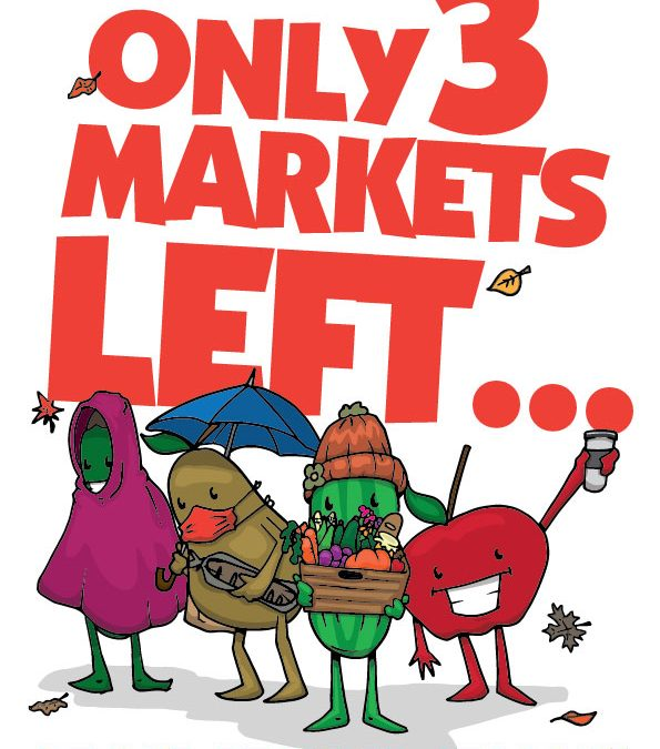 Only 3 Markets Left!!