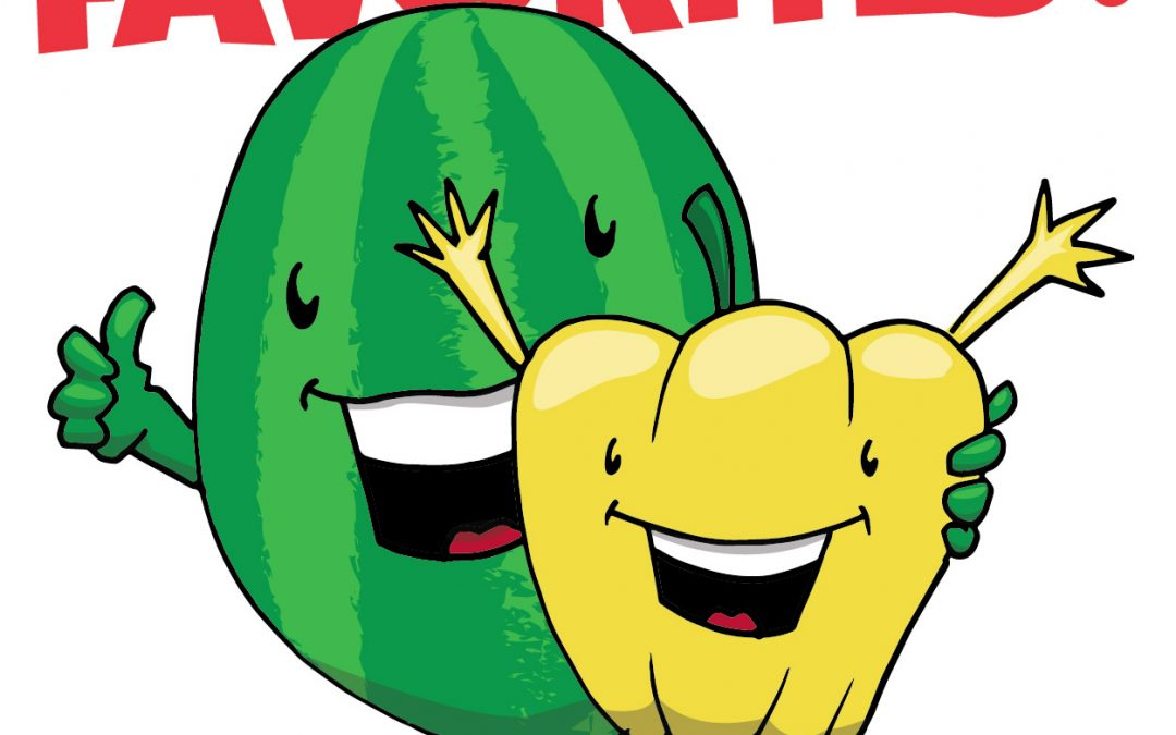 August Produce!!